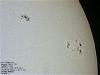 Sunspots 1169 & 1166