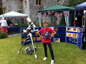 Alex at Marston Magna Fete
