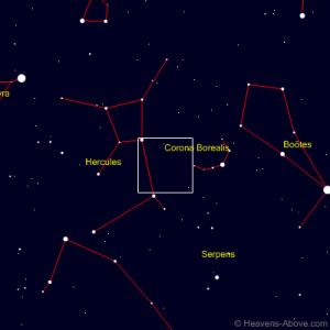 Comet 45P Honda- Mrkos-Pajduskova - 11th at 8:00pm